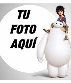 Añade tu foto gratis junto a los personajes de Big Hero 6 con este efecto