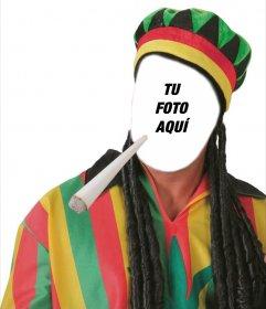 Vístete de rastafari con este montaje original y gratuito