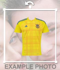 Apoya a la selección de Ucrania con este fotomontaje para editar