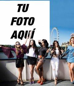 Acompaña a las chicas de Fifth Harmony subiendo tu foto gratis