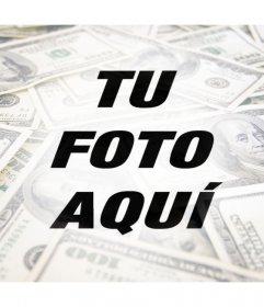 Filtro para fotos con dinero para decorar tu foto de perfil