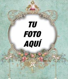 Exótico marco que puedes editar con tu foto y usarlo de perfil