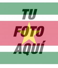Filtro de Surinam para poner encima de tus fotos gratis