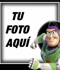 Fotomontaje con Buzz Lightyear para subir una foto