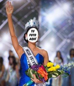 Fotomontaje de la Miss Universo Filipinas para subir tu foto