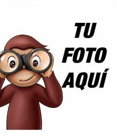 Fotomontaje infantil de Jorge el Curioso para tu foto