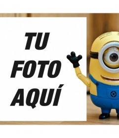 Fotomontaje de un Minion para subir tu foto