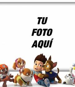 Sube tu foto con todos los personajes de La Patrulla Canina