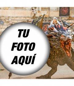 Sube tu foto con Khaleesi y su dragón en una escena de Game of Thrones