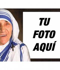 Fotomontaje de la Madre Teresa de Calcuta para subir tu foto