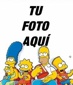 Fotomontaje de Los Simpson para subir tu foto