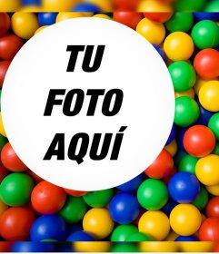 Colorido foto efecto para subir tu foto favorita