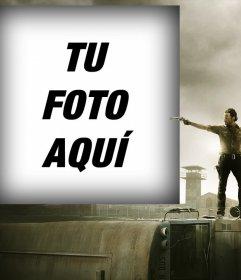 Fotomontaje para tu foto con el protagonista de The Walking Dead