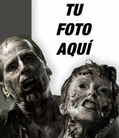 Fotomontaje de terror con zombies con tu foto