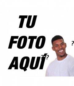 Meme del Negro Confundido para subir tu foto