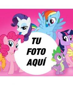 Fotomontaje de Mi Pequeño Pony para subir una foto