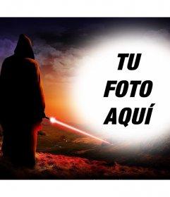 Fotomontaje de Star Wars para subir una foto