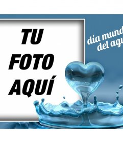 Celebra el Día Mundial del Agua con este efecto para tu foto
