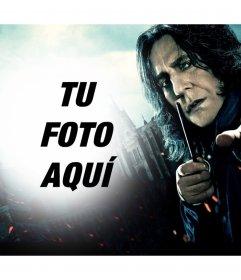 Fotomontaje de Severus Snape para subir tu foto