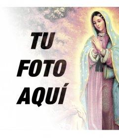 Fotomontajes con imágenes de la Virgen de Guadalupe