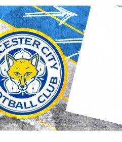 Foto portada para los fanáticos del equipo Leicester para personalizar