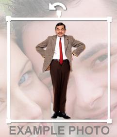 Pon a Mr. Bean en tus fotos con este fotomontaje divertido