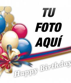 Agréga globos de cumpleaños a tus fotos con este efecto