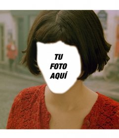 Conviértete en Amelie con este fotomontaje que puedes editar