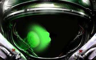 Escafandra de astronauta para poner tu cara dentro de un traje espacial