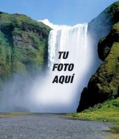 Fotomontajes con cascadas donde poner tu foto online