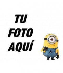 Fotomontaje donde puedes colocar un monstruo amarillo de un solo ojo a tus fotos preferidas