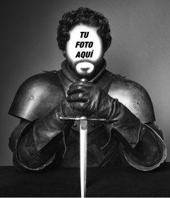 Pon tu cara en esta foto de Robb Stark de Juego de Tronos