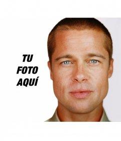 Fotomontaje para tus fotos con Brad Pitt