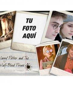 Pon tu foto junto a los protagonistas de la película de Harry Potter: Hermione Granger, Ron Weasley