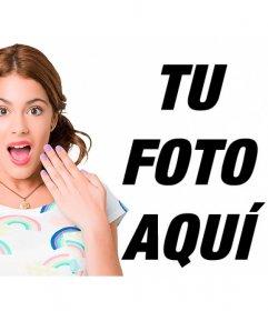 Fotomontajes de la serie Violetta para hacer online