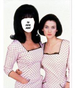 Fotomontaje para ser Cher en la película Sirenas