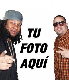 Creador online de fotomontaje para poner una foto junto a Yaga y Mackie
