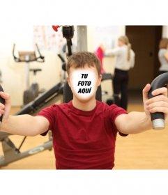 Demuestra a tus amigos que haces ejercicio con este fotomontaje online