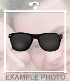 Pegatina de unas gafas de sol