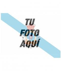 Poner la bandera de Galicia en mi foto