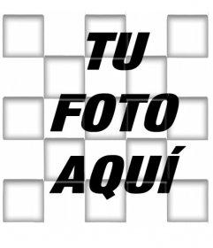 Filtro para fotos de cuadrados con sombreado en 3D