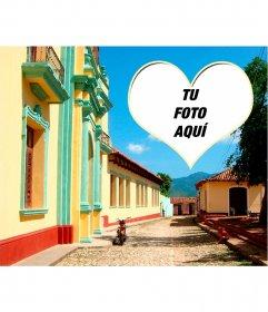 Postal colorida de La Habana
