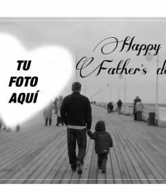 Postal para felicitar el día del padre