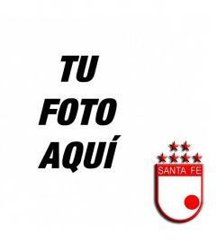 Pon tu foto con el escudo del Independiente de Santa Fe