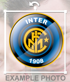 Pon el escudo del Inter en tus fotos con este pin