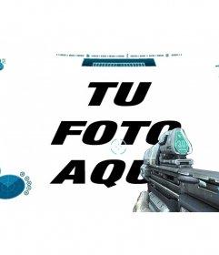 Filtro para tus fotos con la interfaz de Halo