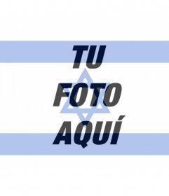 Bandera de Israel para poner foto de perfil