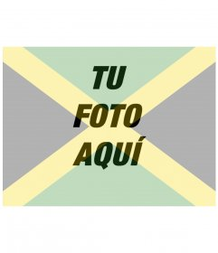 Collage para poner la bandera de Jamaica junto con tu foto