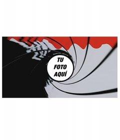 Haz un fotomontaje estilo pistola de James Bond con tu propia foto