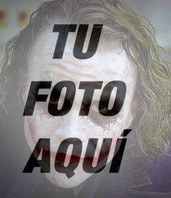 Filtro de foto Joker Guason en tu foto